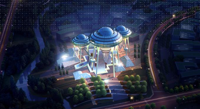 """[海南]""""产城融合""""生态海洋高新技术产业园区城市景观规划设计方案_8"""