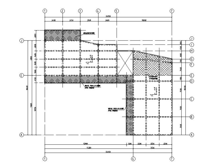 校室及宿舍楼框架结构加固改造施工图2016