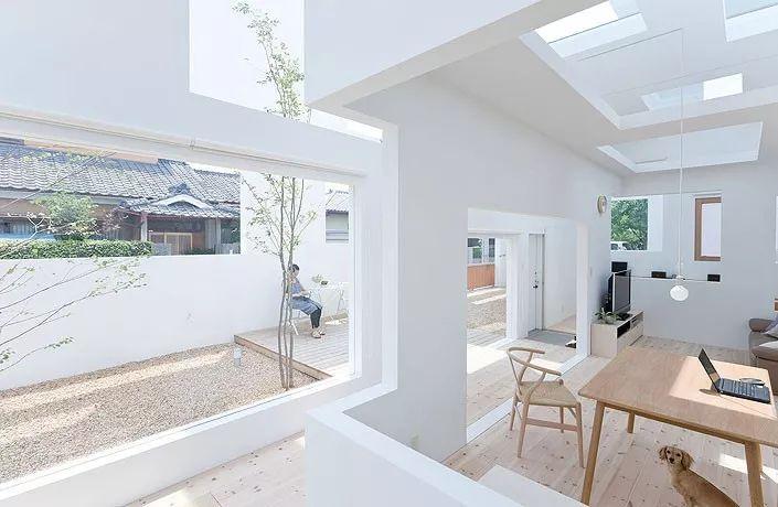 16个日本最佳现代住宅,小而美的空间造就了温暖的家。_21