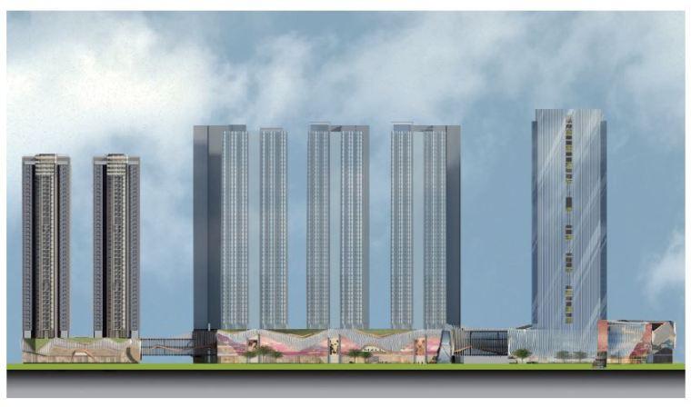 [深圳]西乡超高层商业综合体建筑设计方案文本_7