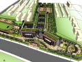 某学校投标方案SU建筑模型