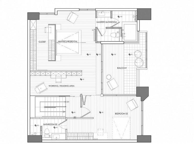 台湾现代风格别墅-15
