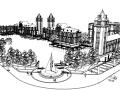 40个商业街景观建筑su模型合集(1)