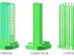 B级高度混凝土超高层写字楼抗震设计论文