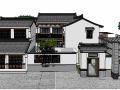 住宅精品  中式庭院3d模型下载