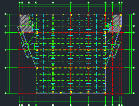 [广东]新建2层体育馆(钢结构)建筑安装工程预算书(含图纸)_3