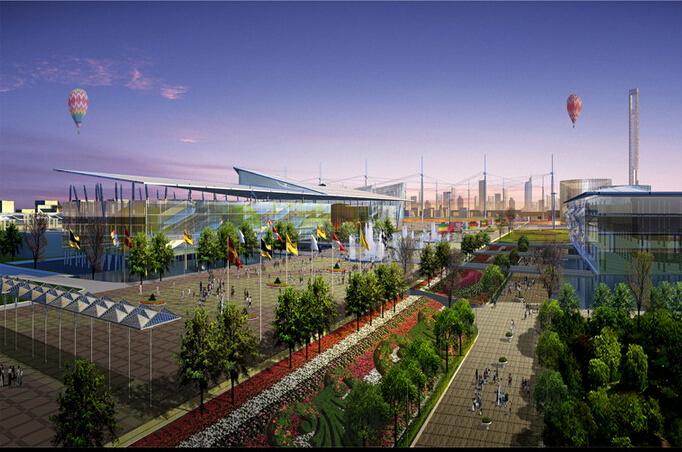 上海世博会规划设计方案文本-09效果图