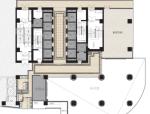 合肥某现代风格写字楼室内设计方案