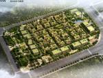 [上海]欧式风格集中商务办公区建筑设计方案文本