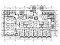 某知名品牌连锁酒店餐厅设计CAD施工图
