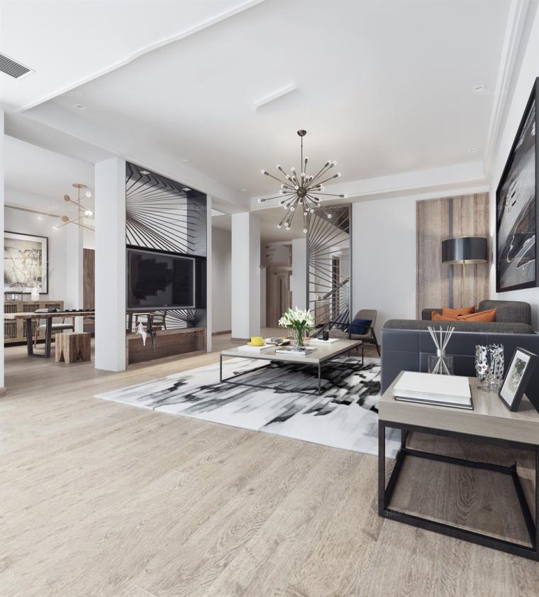 45套精选|现代风格|客厅空间3D模型合辑(下)