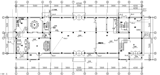 UPVC管道预埋资料下载-某公司六层综合楼全套给排水图纸