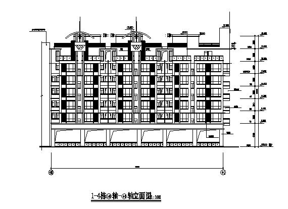 广东省建工院-南京翠屏国际城高层组团建筑方案及施工图