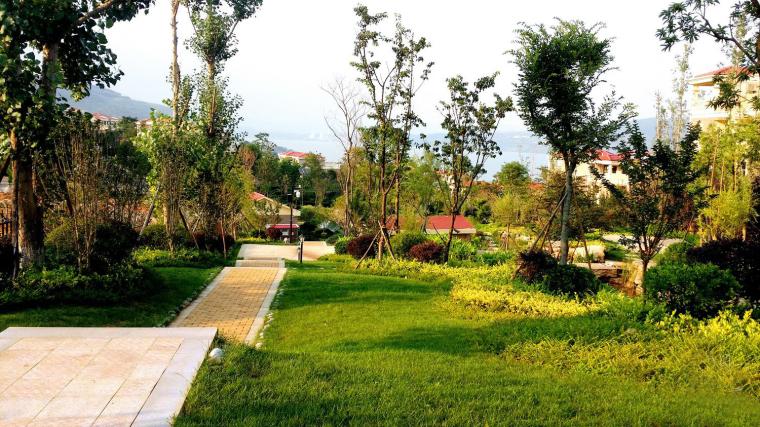 山水天使湾住宅景观