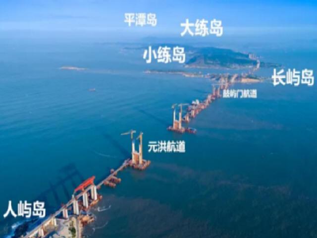 中国首座跨海峡公铁两用大桥完成桩基施工_5