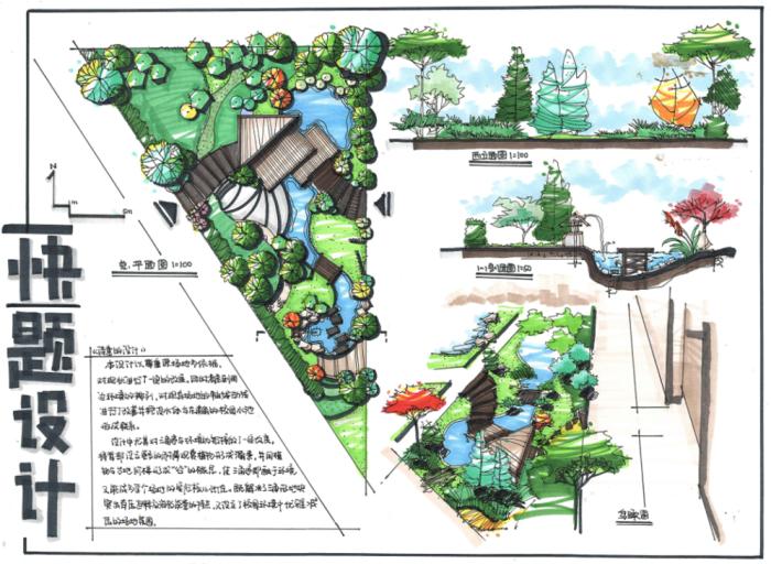 干货:风景园林考研快题范例439套!!!_3