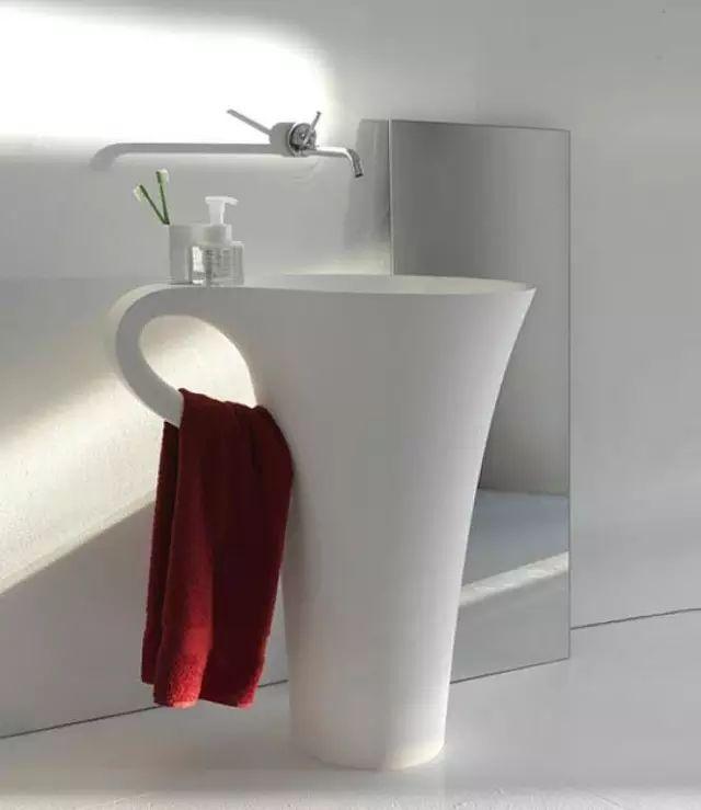 把洗脸盆设计成这样,你咋不上天?_5