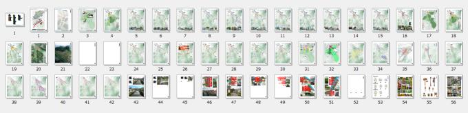 景观规划图纸总缩略图