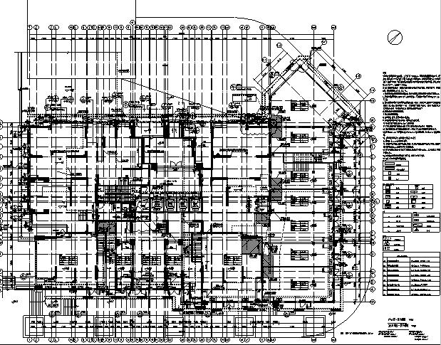 [重庆]高层万科图纸竣工终板施工图(全住宅建筑工程什么有专业软件看图片