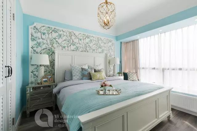 拥有绝美榻榻米卧室、治愈系厨房,可能是最清新的美式风!_34