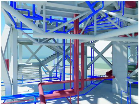 运用BIM技术打造绿色_亲民_节能型建筑_上海世博会国家电网企业馆
