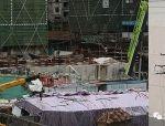安徽六安市碧桂园工地围墙和活动房坍塌,致6人死亡多人受伤