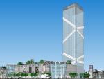 大型商业综合体建筑sketchup模型