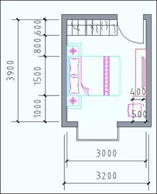 住宅户型的合理尺度(经济型、舒适型、享受型)_16