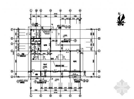 某邮电支局建筑、水、电施工图-3