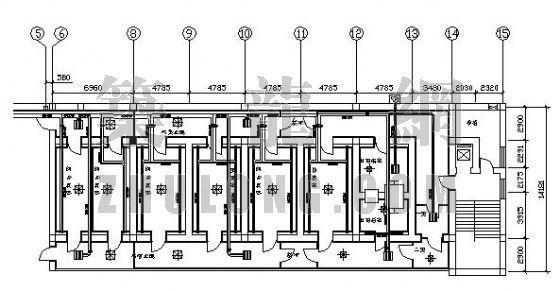 某实验室净化空调设计图