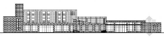 某三层汽车站建筑方案图