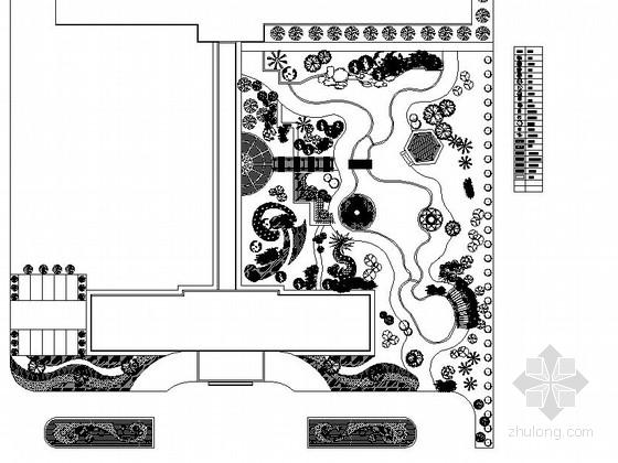 医院附属绿地园林景观工程施工图