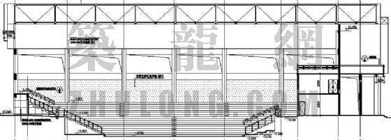 某灯光球场建筑设计方案-2