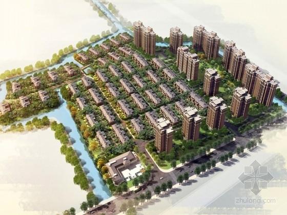 [上海]某住宅区规划及单体设计方案文本