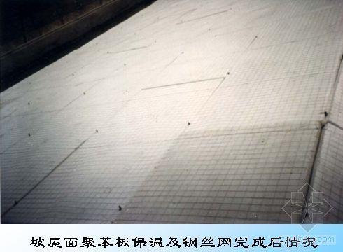 挂瓦坡屋面聚苯板保温质量控制(PPT)