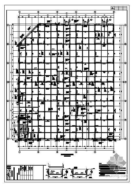 贵州某市会展中心结构图