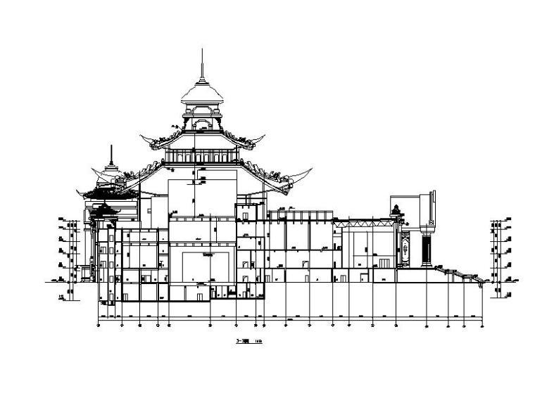 [内蒙古]四层新古典风格多功能文化中心建筑施工图(16年最新)_6