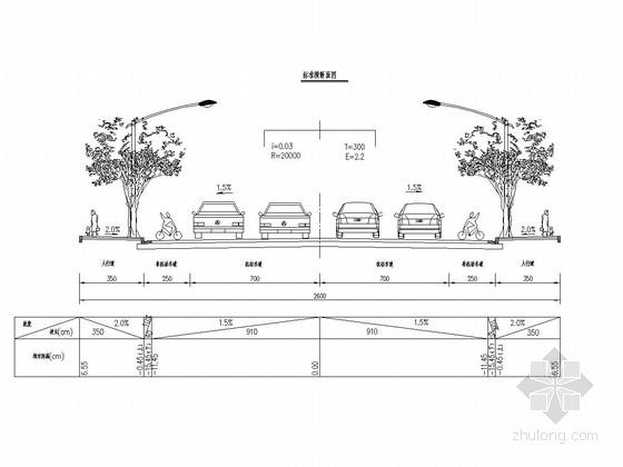 [湖南]城市次干道道路工程施工图设计46张(软基处理)