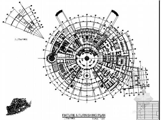 [大连]超大型休闲娱乐时尚温泉中心装修施工图(795张施工图)