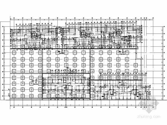 [江苏]地下一层钢筋混凝土地下汽车库结构施工图