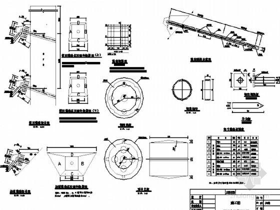 高速铁路路基预应力锚索设计通用图