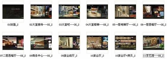 [深圳]全资跨地域国际化现代酒店设计方案图资料图纸总缩略图