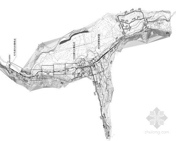 [西藏]1.6公里市政道路排水管道施工图