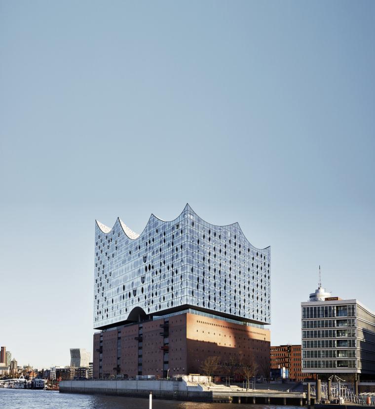 易北爱乐音乐厅与汉堡:对比鲜明,但又浑然一体