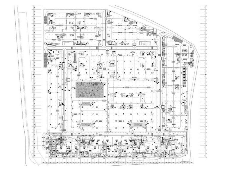 [江苏]文化广场地下空间通风及防排烟系统设计施工图
