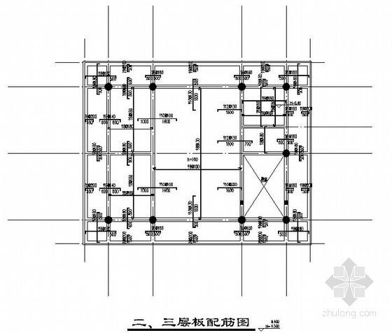 [江西]框架结构养老院结构施工图(三层 独立基础)
