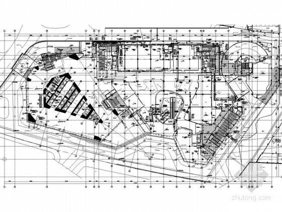 [广东]300米超高层商业综合体给排水消防施工图(中水回收 气体灭火 智能灭火)