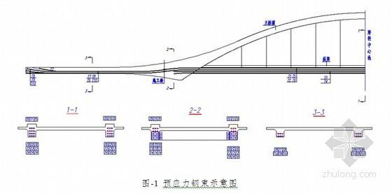 桥梁工程60m钢管混凝土中承式拱桥计算书