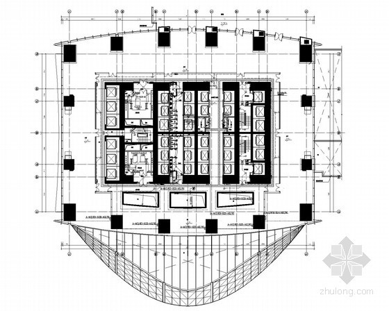 [深圳]超高层金融大厦全套电气施工图纸238张(地下四层)