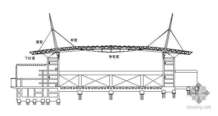 郑州某大型会展中心屋面钢结构预应力拉索安装及张拉施工方案
